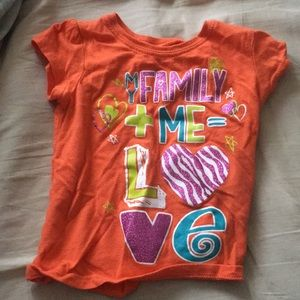 Girls graphic tee